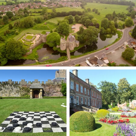 Castles and historic buildings near Oswestry