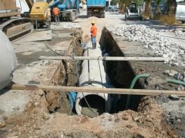 Κανονικά εξελίσσονται τα έργα αντιπλημμυρικής θωράκισης του Δήμου Αγίας Παρασκευής