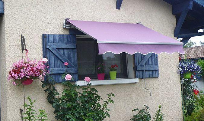 Toile violette