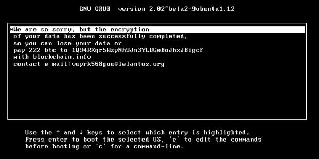 ESET: Троян-вымогатель KillDisk добрался до Linux-компьютеров