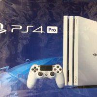 【ゲーム】PS4Proグレイシャー・ホワイト買い取りました!