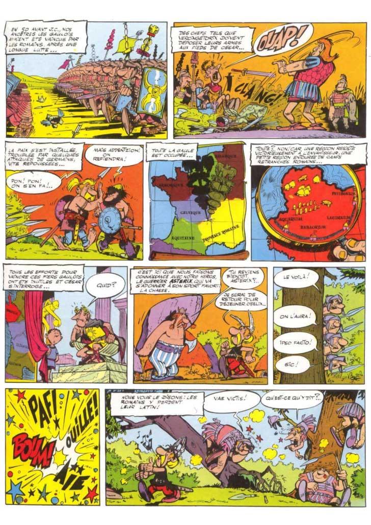 """Résultat de recherche d'images pour """"Astérix tome 1 le gaulois"""""""