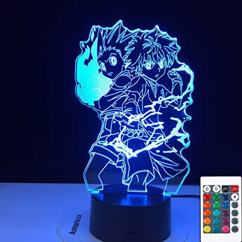 Gon Und Killua LED Lampe   Dein Otaku Shop für Anime, Dakimakura, Ecchi und mehr