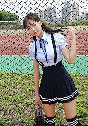 Japanische Schule Mädchen Cosplay