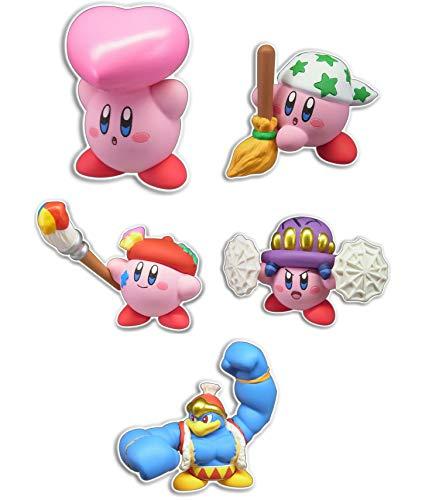 TAKARATOMY A.R.T.S star Kirby Star Arise Cute mascot Gashapon 5 set mini figure capsule toys
