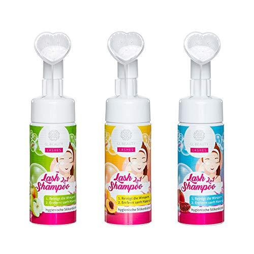 Reinigungsschaum zur Reinigung der Wimpernverlängerung, Lash Shampoo, Wimpernschaum, Wimpernshampoo