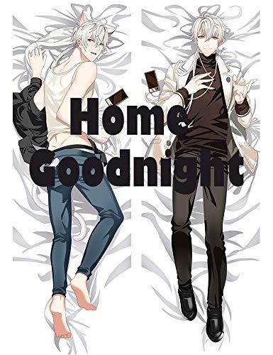 Home Goodnight Zen Hyun Ryu - Mystic Messenger Male 160 x 50cm(62.9in x 19.6in) Peach Skin Kissenbez