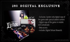 The Letter digital deluxe