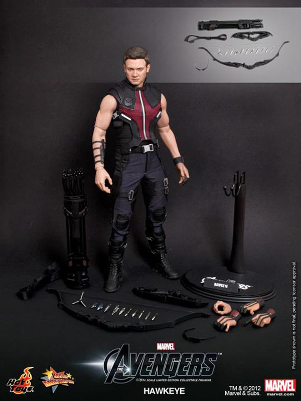 Preview | Hot Toys: Avengers Hawkeye (3)
