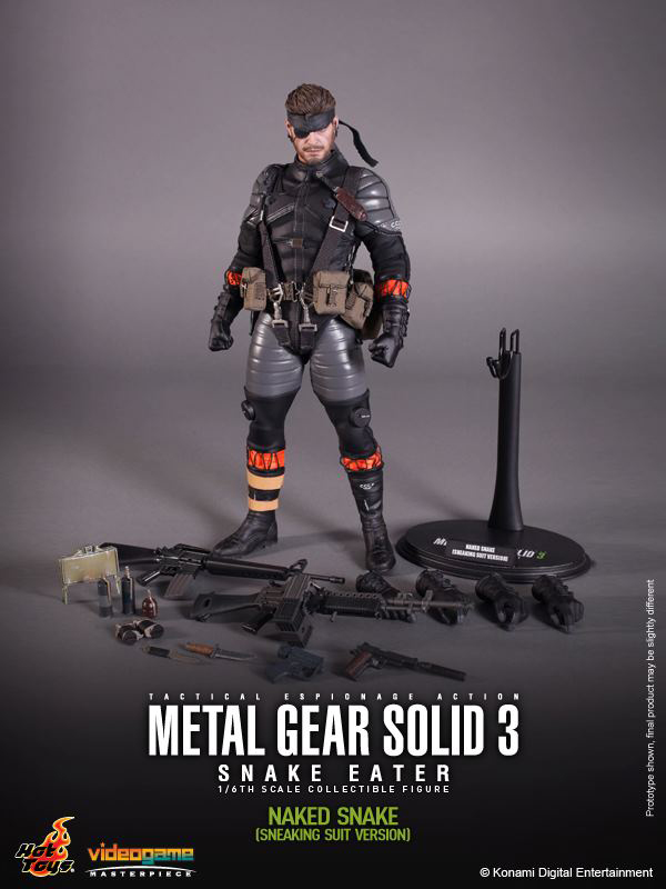 Preview | Hot Toys: Naked Snake (19)