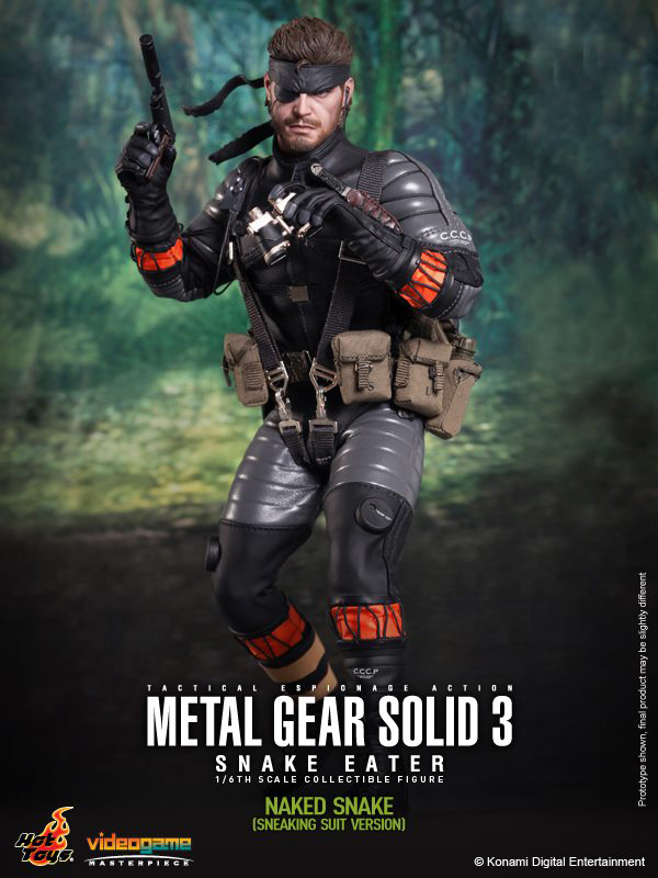 Preview | Hot Toys: Naked Snake (3)