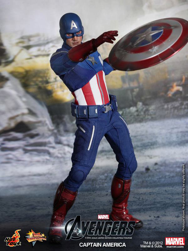 Preview | Hot Toys: Captain America (Avengers) (16)