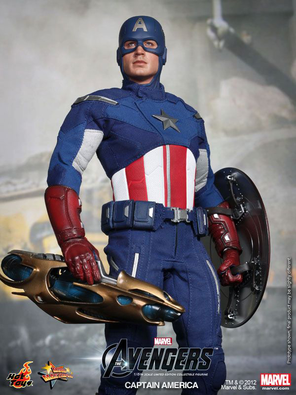 Preview | Hot Toys: Captain America (Avengers) (10)