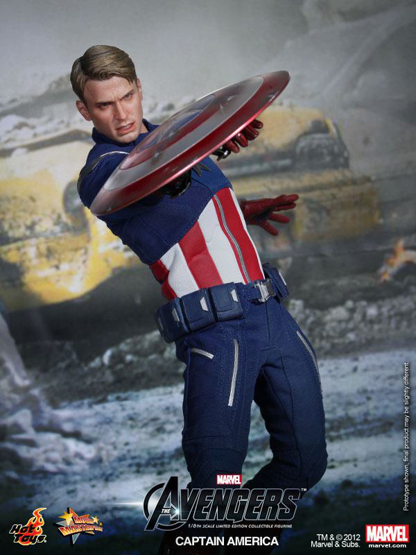 Preview | Hot Toys: Captain America (Avengers) (9)