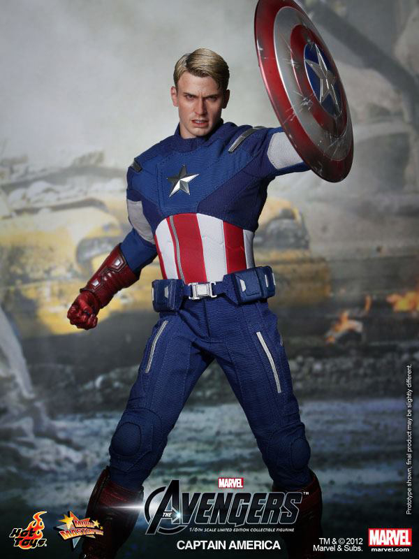 Preview | Hot Toys: Captain America (Avengers) (6)