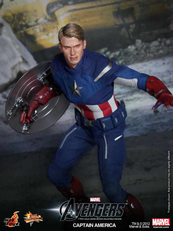Preview | Hot Toys: Captain America (Avengers) (4)