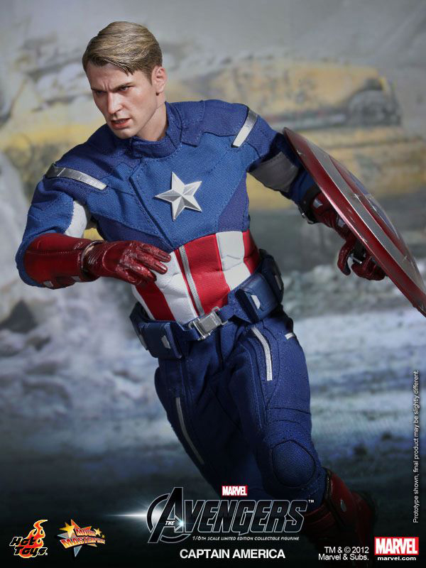 Preview | Hot Toys: Captain America (Avengers) (3)