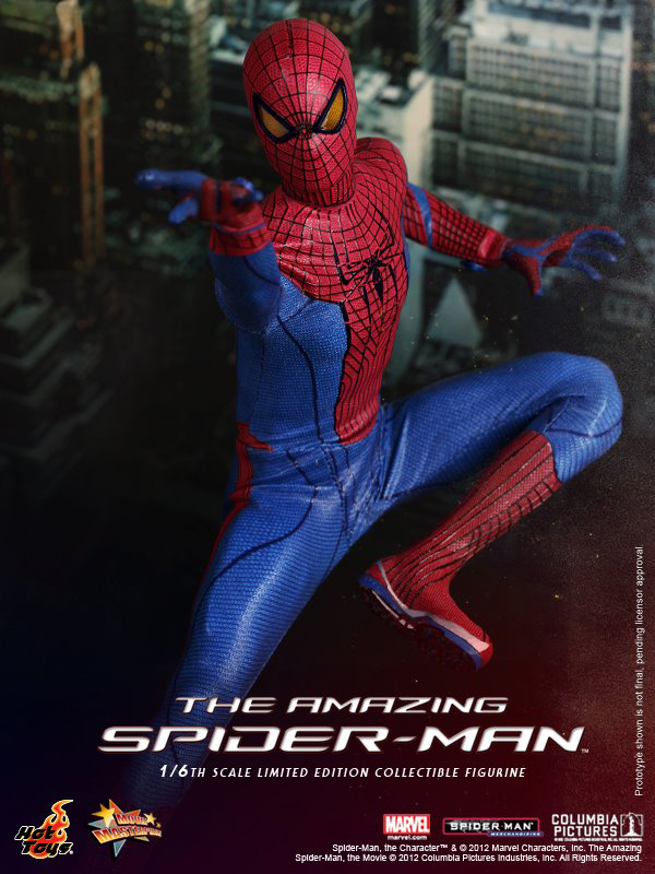 Preview   Hot Toys: Amazing Spiderman (4)