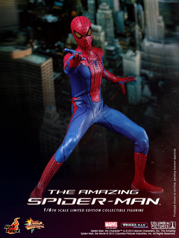 Preview   Hot Toys: Amazing Spiderman (7)