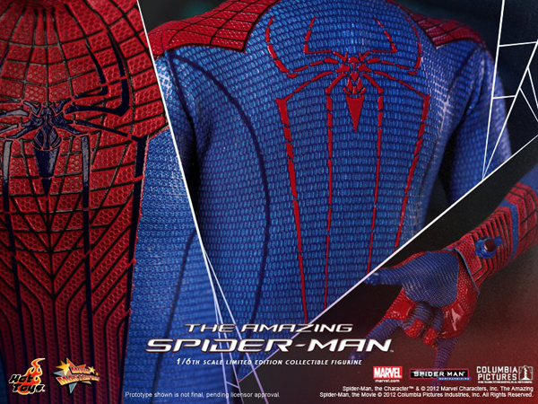 Preview   Hot Toys: Amazing Spiderman (6)