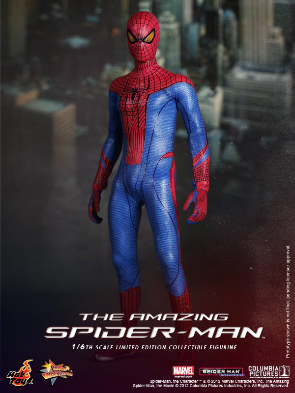 Preview   Hot Toys: Amazing Spiderman (11)