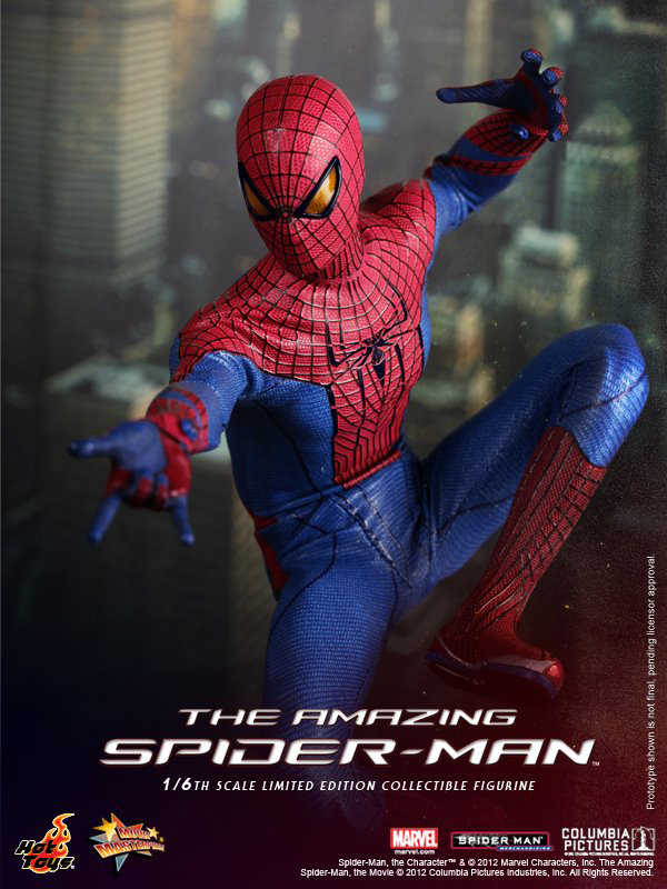 Preview   Hot Toys: Amazing Spiderman (9)