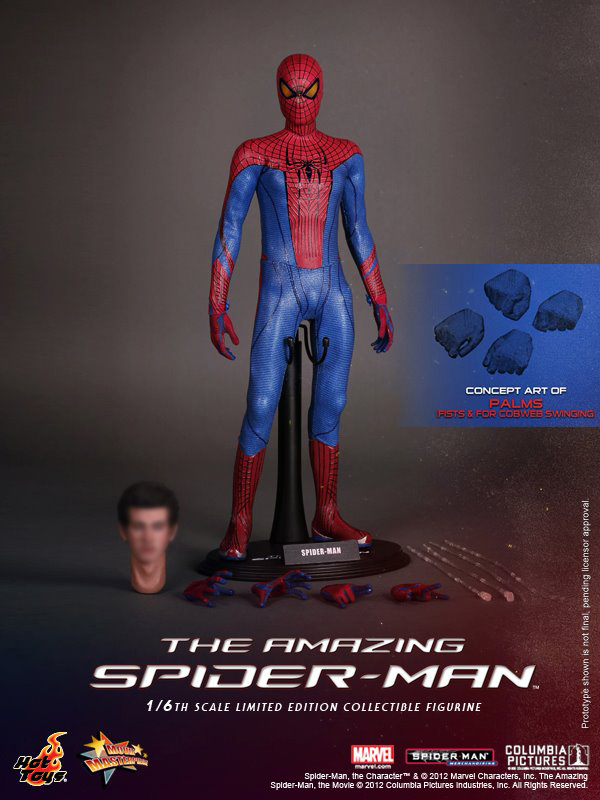 Preview   Hot Toys: Amazing Spiderman (17)