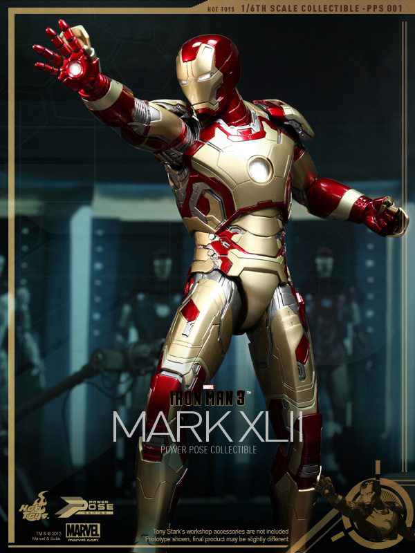 Preview   Hot Toys: Iron Man Mk XLII (Power Pose Series) (9)