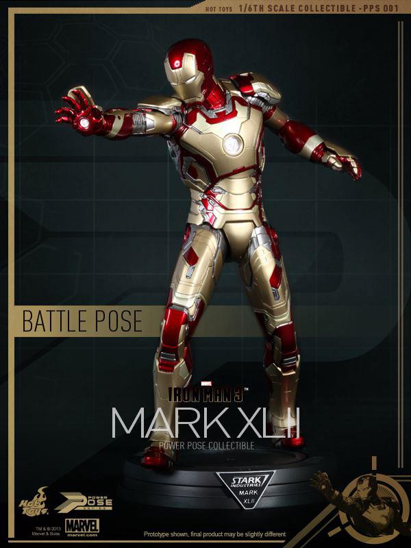 Preview | Hot Toys: Iron Man Mk XLII (Power Pose Series) (12)