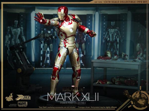 Preview | Hot Toys: Iron Man Mk XLII (Power Pose Series) (13)