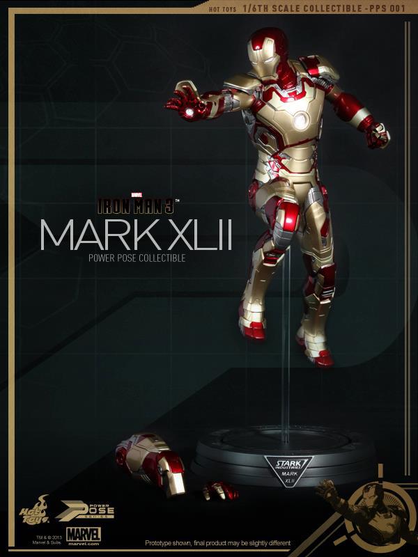 Preview | Hot Toys: Iron Man Mk XLII (Power Pose Series) (15)