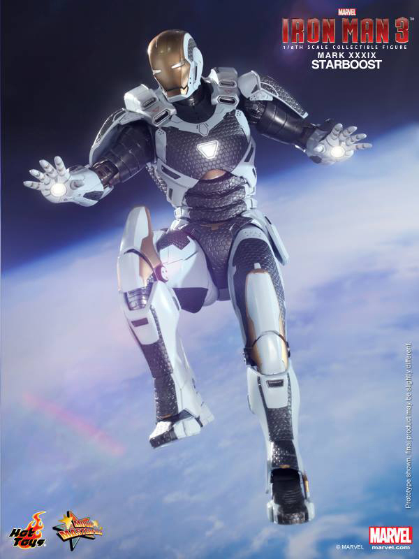Preview   Hot Toys: Ironman Mark XXXIX (Starboost) (12)