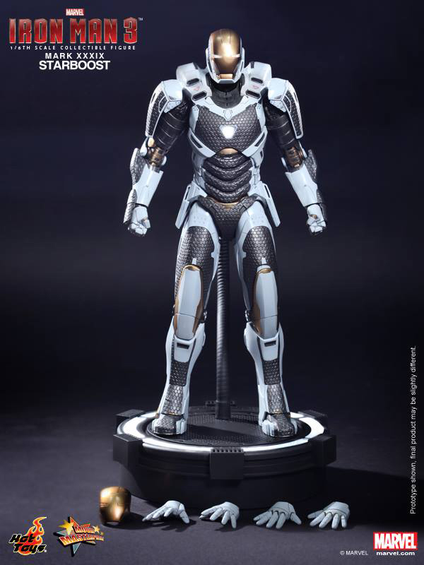 Preview   Hot Toys: Ironman Mark XXXIX (Starboost) (15)