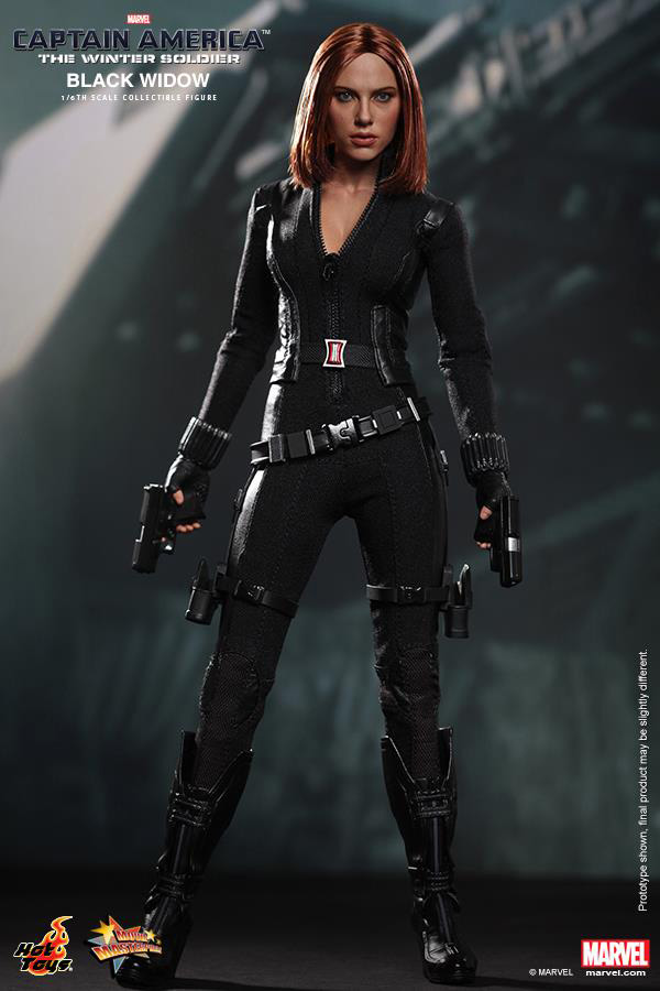 Preview | Hot Toys: Black Widow (Captain America: The Winter Soldier) (5)
