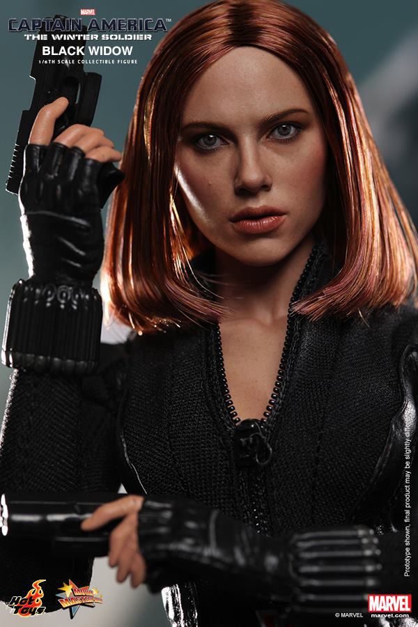 Preview | Hot Toys: Black Widow (Captain America: The Winter Soldier) (11)