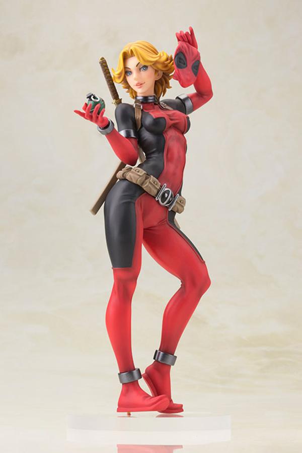 Preview   Kotobukiya: Lady Deadpool (6)
