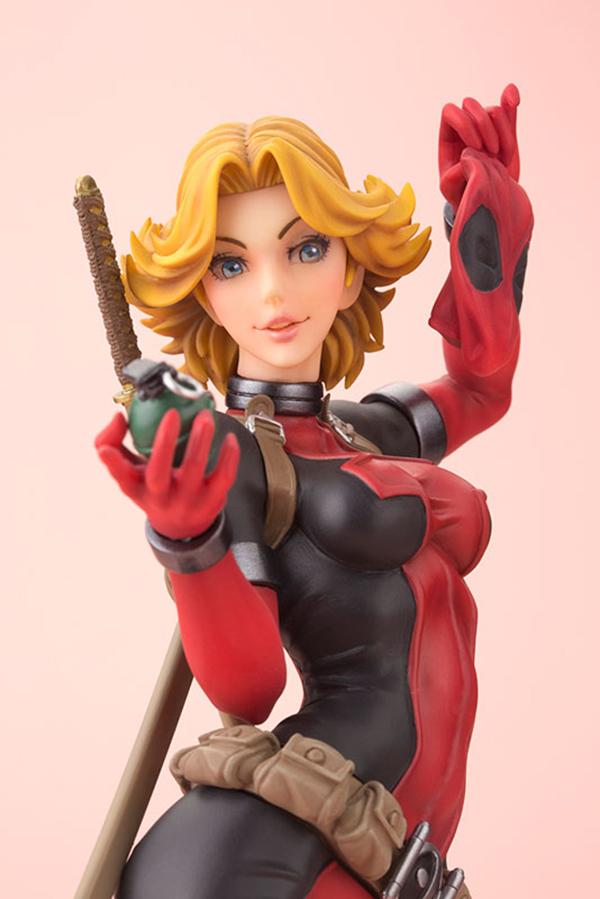 Preview   Kotobukiya: Lady Deadpool (11)