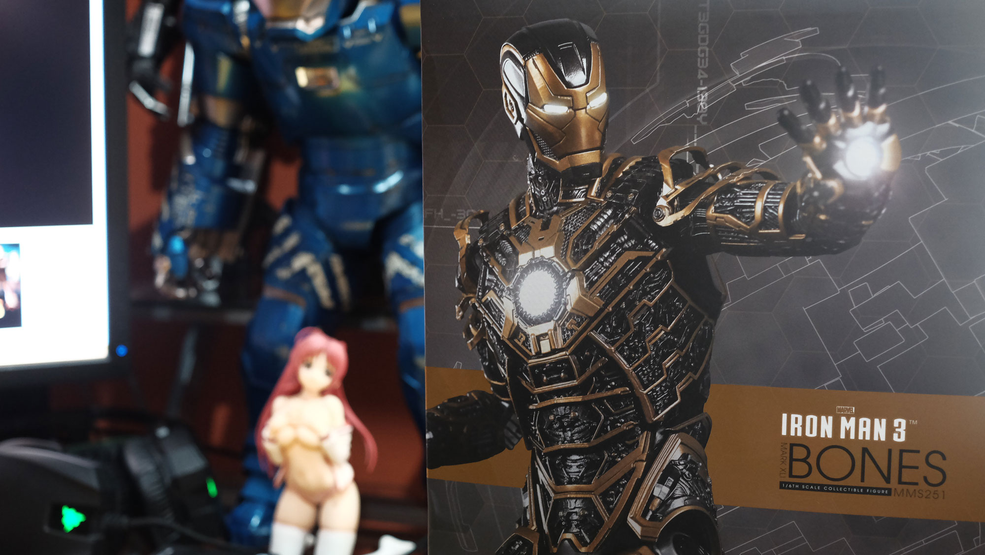 "Loot Report - Iron Man Mark XLI ""Bones"" (4)"