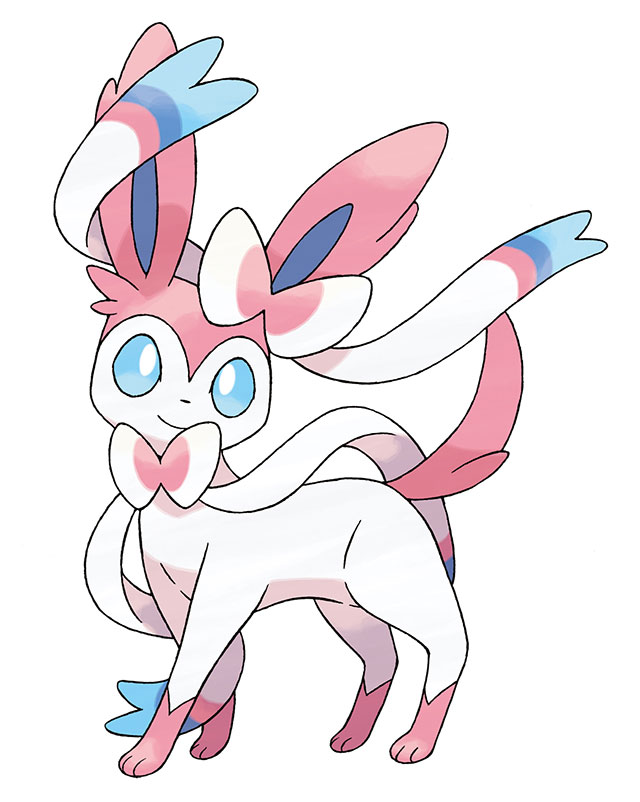 Sylveon - novo Pokémon de Pokémon X e Pokémon Y