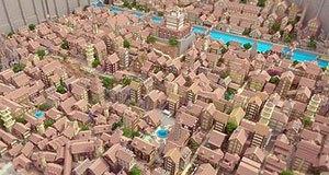 Distrito de Attack on Titan no Minecraft