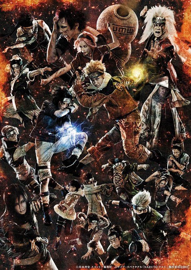 Live Spectacle Naruto - nova imagem promocional