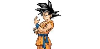 Design de Goku no manga Dragon Ball Super