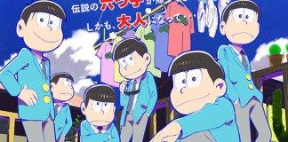Osomatsu-kun vai ter nova série anime