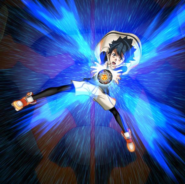 Azuma Kazuki (Yusuke Kobayashi), é um garoto de 16 anos de idade impetuoso que viajou pelo mundo com o seu pai antes de retornar ao Japão para se unir ao seu Bubuki. Azuma tem medo de alturas.