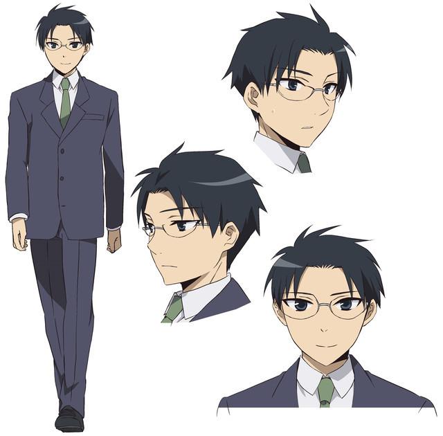 Tomoaki Maeno é Keiichirō Shinozaki