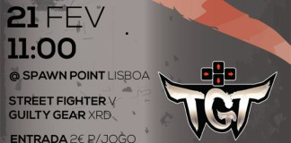 Torneio de Guilty Gear Xrd/Street Fighter V na Spawn Point