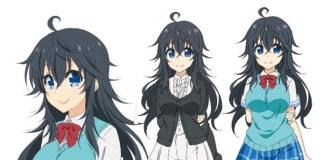 Design de personagens de Netoge no Yome wa Onna no Ko ja nai to Omotta?
