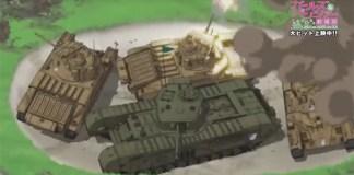 BD/DVD do filme de Girls und Panzer vai ter OVA