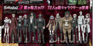 Danganronpa 3 revela 12 novos personagens