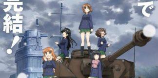 Girls und Panzer das Finale em Dezembro